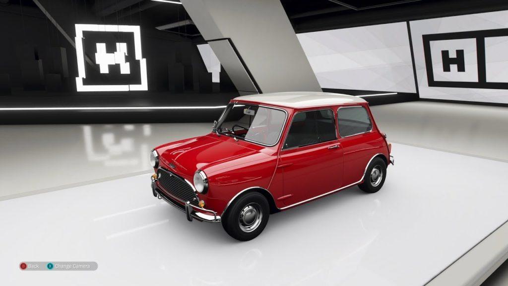 Где найти 1965 Mini Cooper S в Forza Horizon 4