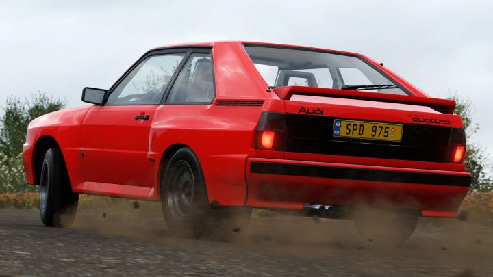 Где найти 1983 Audi Sport Quattro в Forza Horizon 4