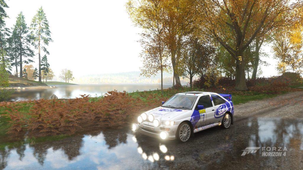 Forza Horizon 4 - Черный экран при загрузке