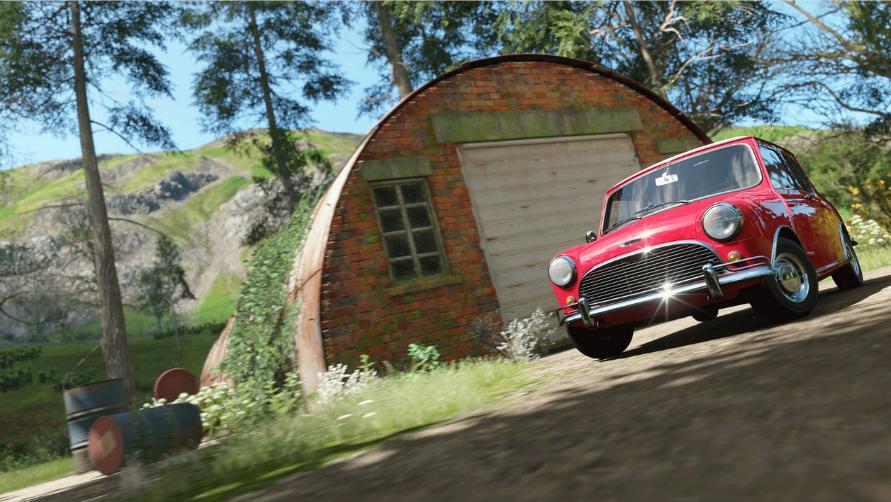 Forza Horizon 4 расположение сараев и раритетных автомобилей
