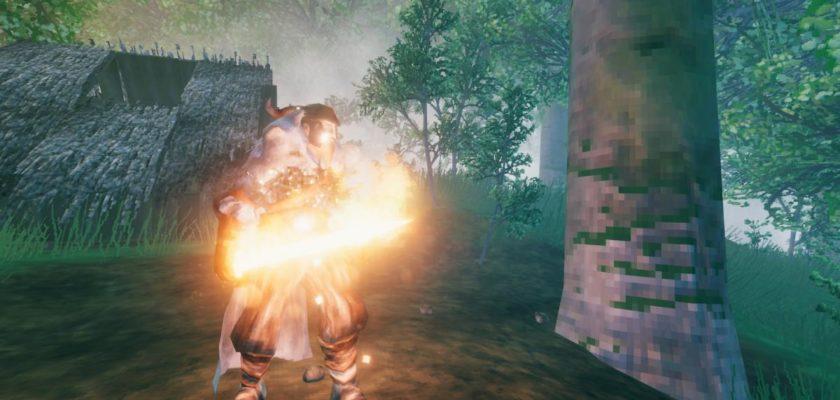Огненный меч в Valheim