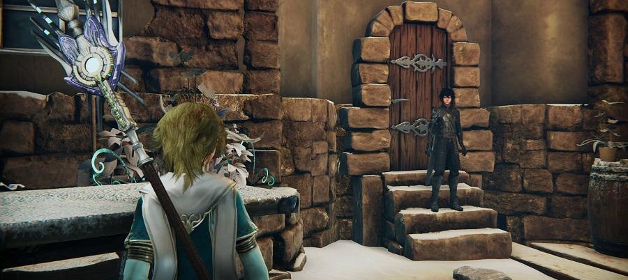 Дарион просыпается после кошмара в деревне Илон