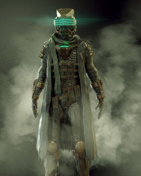 Dead Space 4 концепт арты