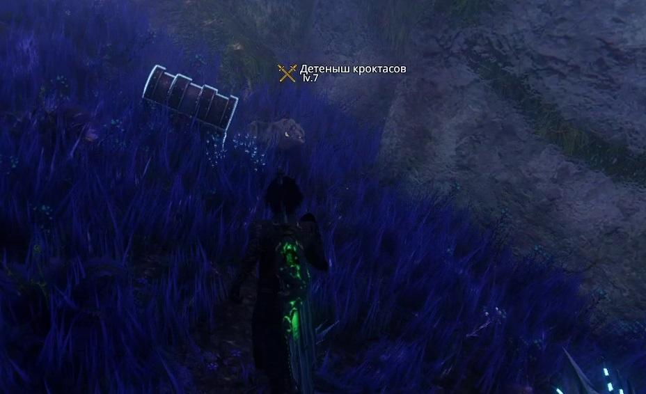 Детеныш кроктаса в Герельзорском лесу Edge of Eternity