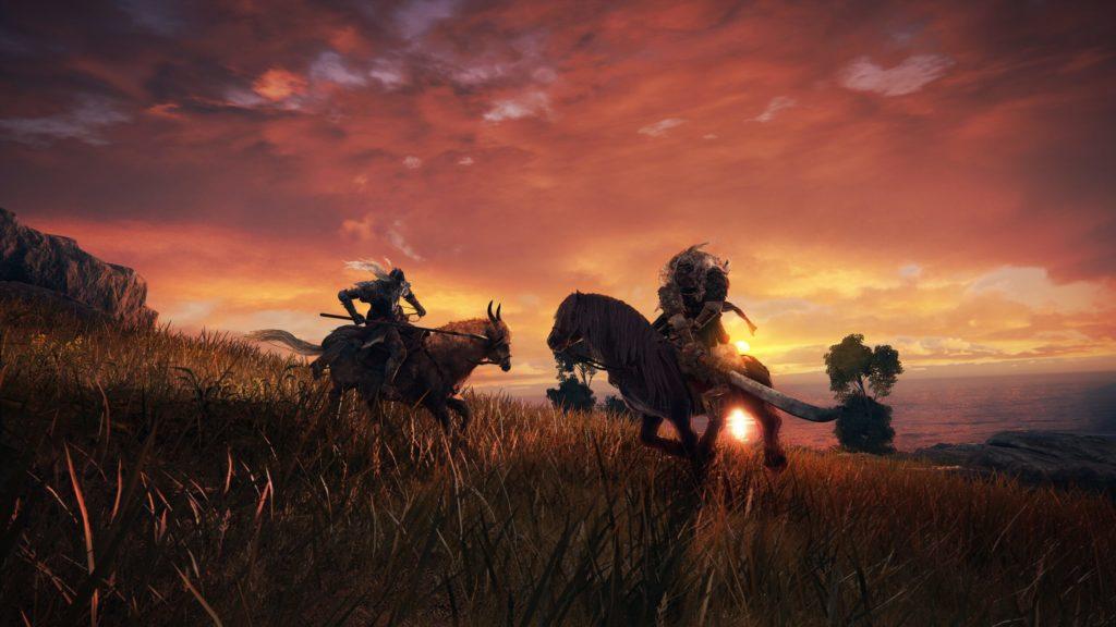 Поединок на лошади в Elden Ring