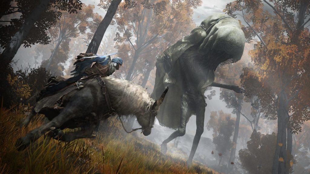 Бои с боссами верхом на лошади в Elden Ring