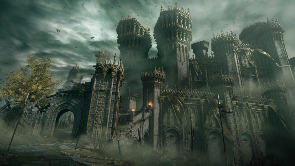 Замок в Elden Ring