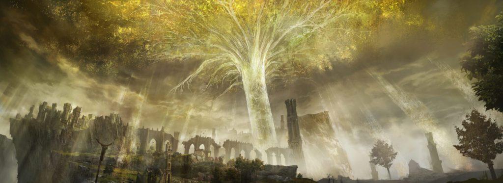 Сияющее дерево в Elden Ring