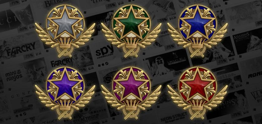 CSGO медаль за службу (соревновательный режим)