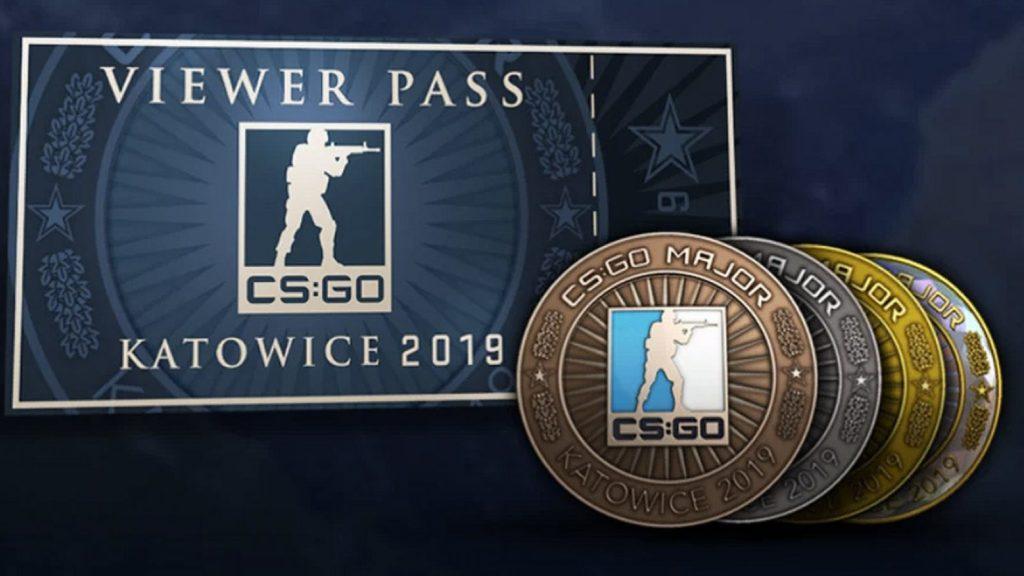 CS:GO памятная монета турнира