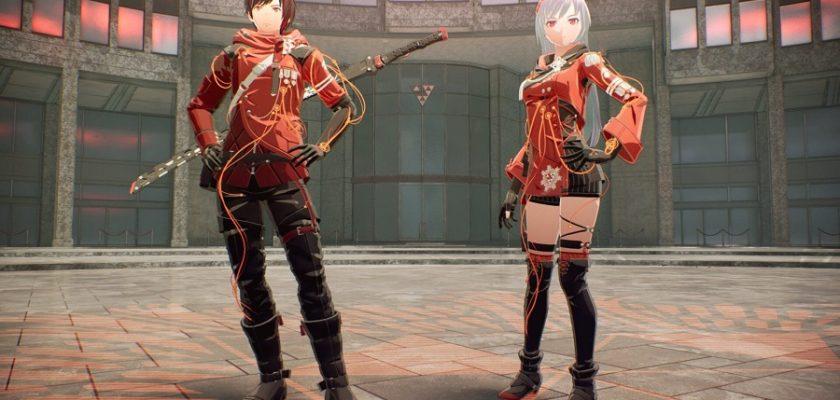 Как поменять костюм в Scarlet Nexus