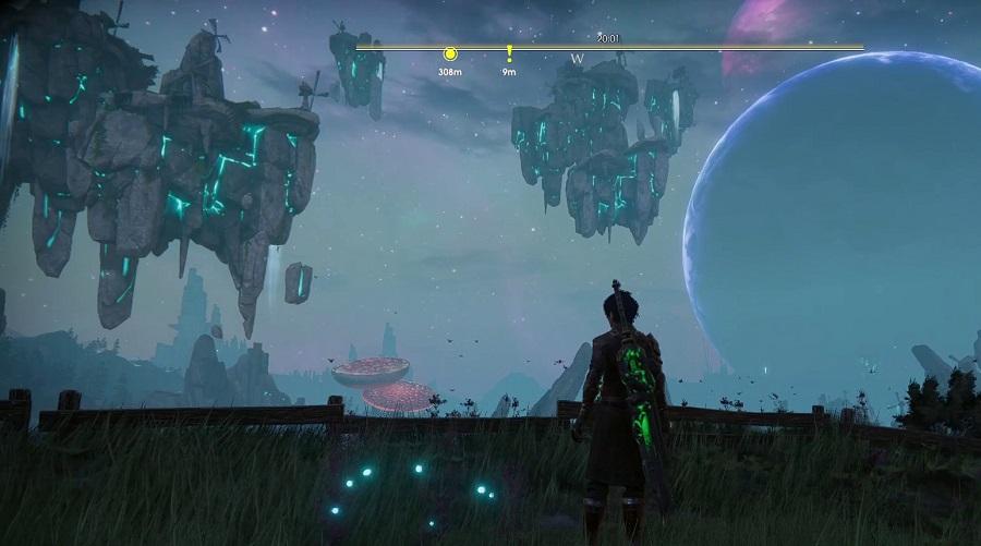 Красивый вид на Герельзорские ветрянные мельницы в небе