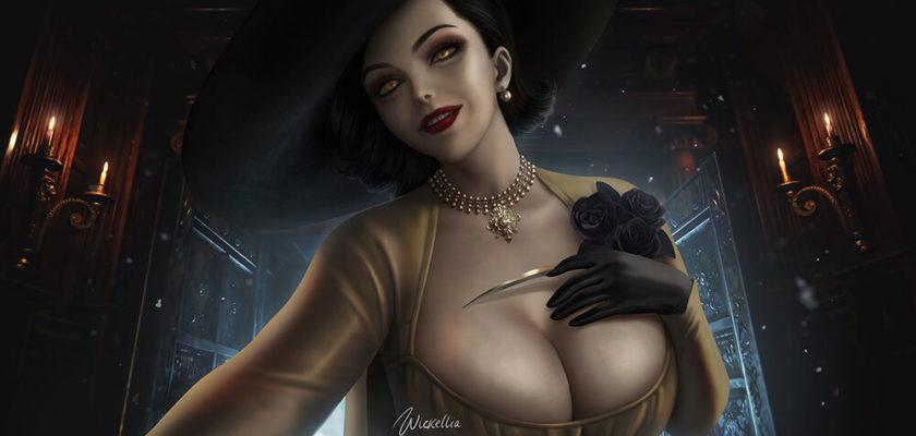 Дополнение Resident Evil Village DLC для Lady Dimitrescu