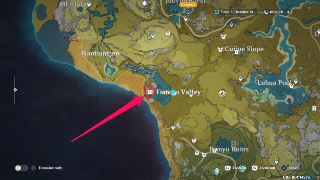 Genshin Impact Долина Тяньцю