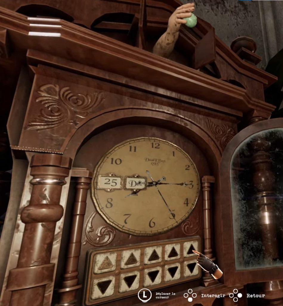 Головоломка Tormented Souls - Код напольных часов (Grandfather Clock Code)