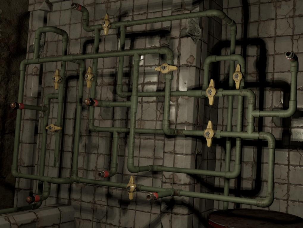 Tormented Souls - Головоломка с трубопроводом (Gasoline Pump Puzzle)