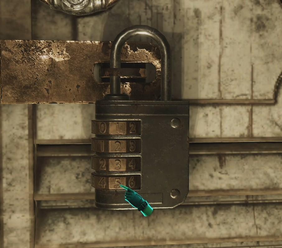 Головоломка Tormented Souls - Кодовый замок (Padlock Code)