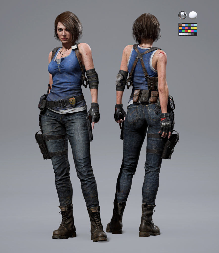 Джилл Валентайн на Unreal Engine 5