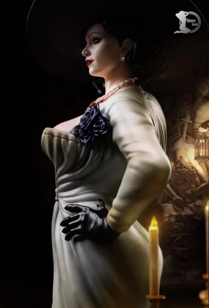 Горячая фигурка Леди Димитреску из Resident Evil Village