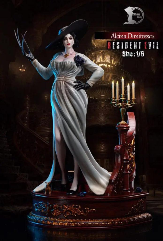 Фигурка Леди Димитреску из Resident Evil Village от ShowBody Studio - Фото 1